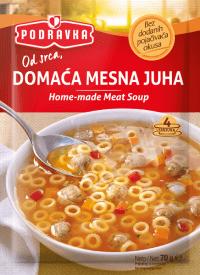 Domaca mesna juha