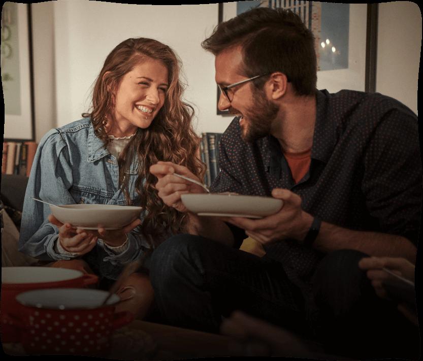 Par koji jede juhu